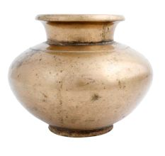 Brass Holy Water Pot Worship Home Decoration