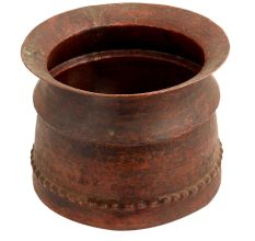 Copper Pot Decorative Rustic Flower Pot