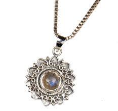 Semi Precious Decorative 92.Sterling Pendant Jewelry