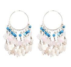 Ethnic Stylish Trendy Sterling Silver Chandelier Earring