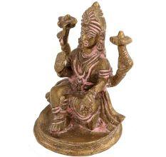 Brass Religious Idol Goddess Laxmi Statue