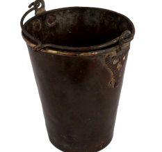 Brass Golden  Water bucket With Swing Handle