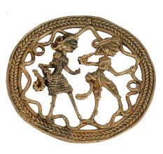 Handmade Bastar Dhokra Brass Art Wall Hanging