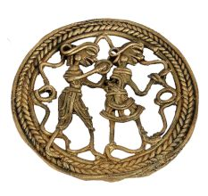 Handcrafted Brass Dhokra Art Wall