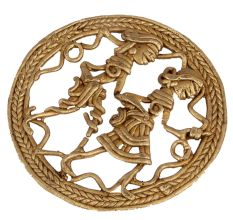 Handcrafted Brass Bastar Dhokra Art Wall