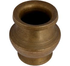 Heavy Brass Simple Holy Water Pot