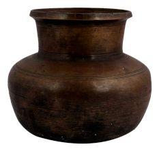 Hindu Broad Brass Water Pot