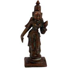 Brass Handmade Indian Goddess Idol Statue