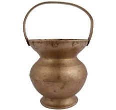 Brass Kamandal Holy Water Pot With Handle