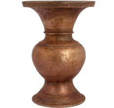 Brass Wide Mouth Pot Vase Planter Pot