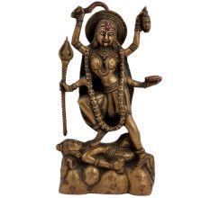 Indian Deity Brass Ma Kali Statue