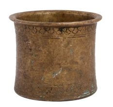 Brass Charnamrit Or Holy Water Cup For Worship