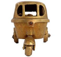 Handmade Brass Auto Statue Toy Gift
