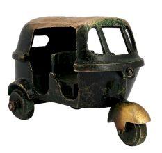 Handmade Brass Auto Vehicle Statue Toy Showpiece