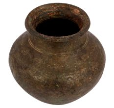 Brass Water Pot Old Used Home Decoration Pot