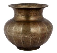 Bronze Water Pot  Old Kitchenware Utility
