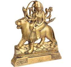 Brass Durga maa Statue Decorative Showpiece