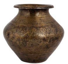 Brass Broad Centre Holy Water Pot kalash
