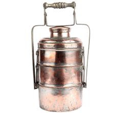 Copper Three Container Lunch Box