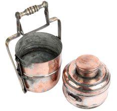 Copper Three Container Lunch Box