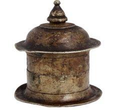 Handcrafted Brass Hindu Sindhoor Dani Box