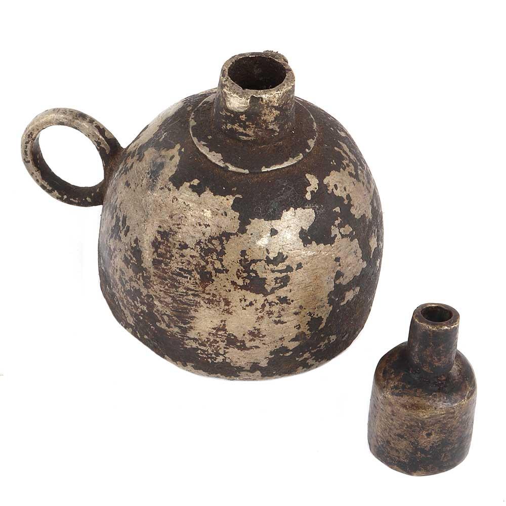 Brass Handmade Vintage Oil Lamp
