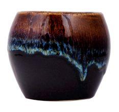 Brown Ceramic Pot For Home Decoration