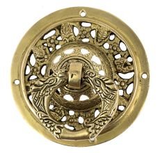 Hand Casted Ornate Design Parrot Ring Door Knocker
