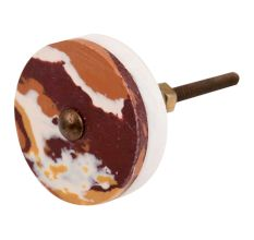 BrownTexture Stone Cabinet knob