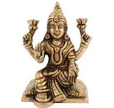 Goddess Lakshmi Traditional Puja Room