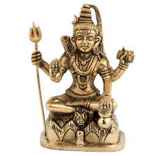Lord Shiva Bronze Idol