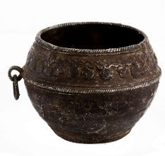 Brass Rice Measurement From Orissa Vintage Collection