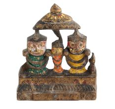 Lord Jagannath Figure Plate For Gifting