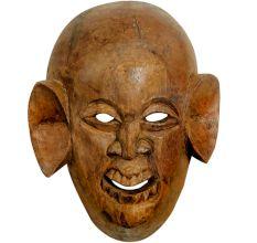 Handmade Primitive Wooden Face Mask Of African Face Mask