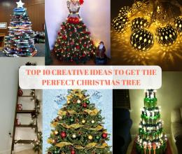 TOP 10 CREATIVE IDEAS TO GET THE PERFECT CHRISTMAS TREE